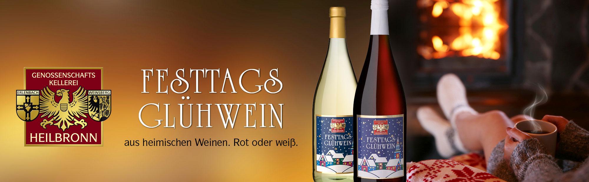 Festtags-Glühweine aus dem Weinschatzkeller Heilbronn